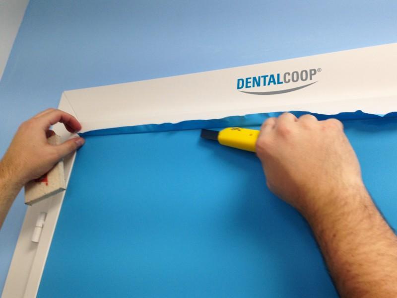 Rinnovo e applicazione porte Dental Coop Treviso