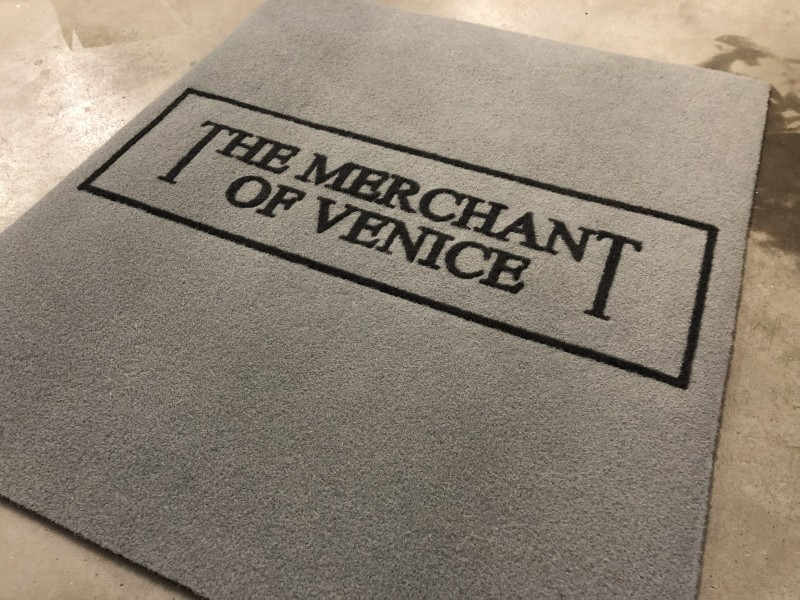 Zerbini personalizzati, zerbini con logo aziendale