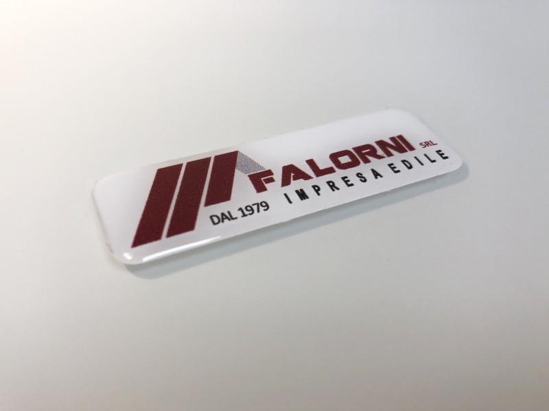 Etichette adesive resinate, stampa adesivi resinati