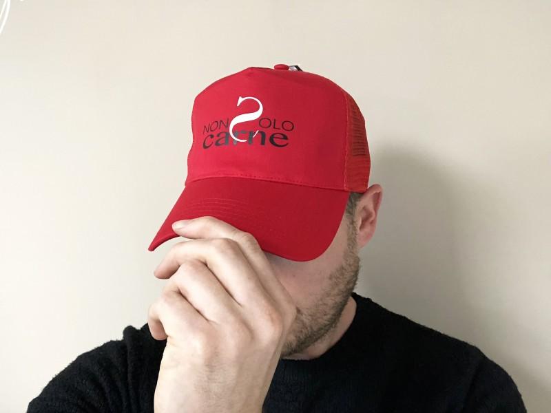 Cappelli personalizzati rossi - Serigrafia Mestre Venezia