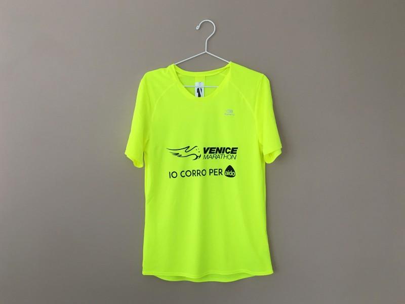 Personalizzazione Abbigliamento sportivo Venezia, personalizzazione maglie sportive Running.