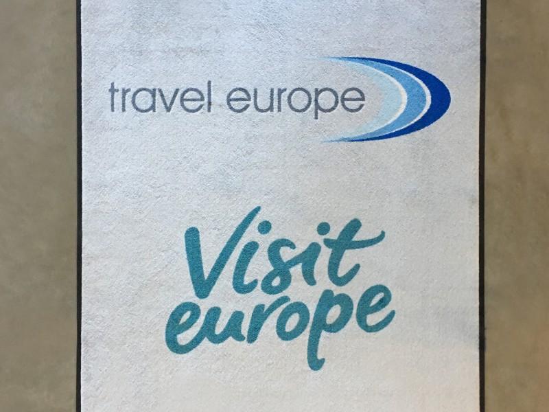 Asciugapassi stampato traveleurope