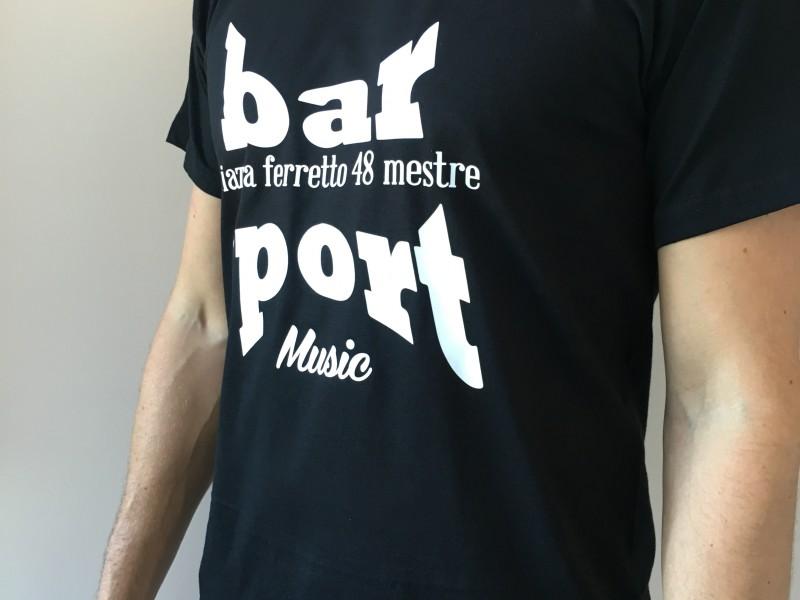 T-Shirt, Maglietta Personalizzata Bar Sport Mestre