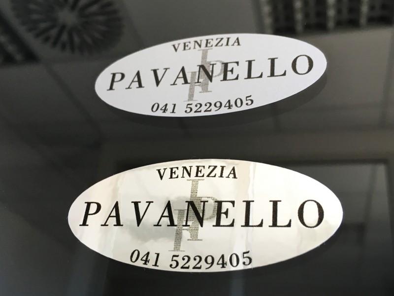 Adesivi Etichette Metallizzate Grigio Opaco e Lucido