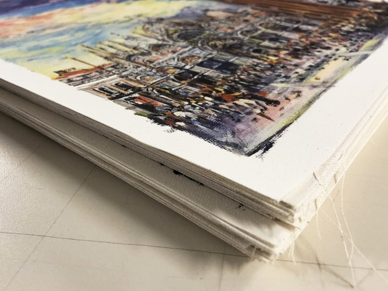 Stampa fotografica su tela canvas