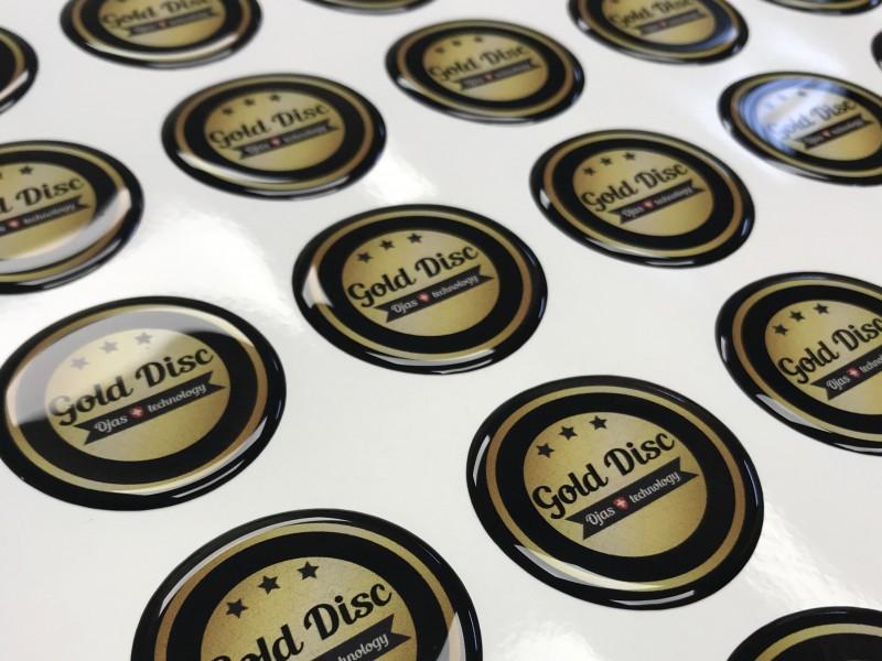 Etichette resinate lenticolari 3D