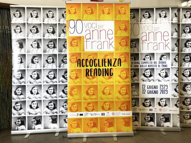 Stampa Roll-Up per incontro Anna Frank al Campo del Ghetto di Venezia