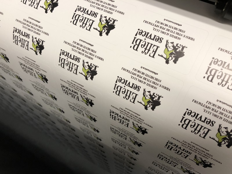 Stampa etichette adesive per aziende