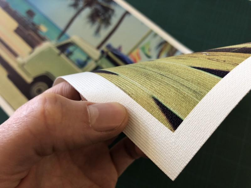 Stampa su tela e stampa canvas