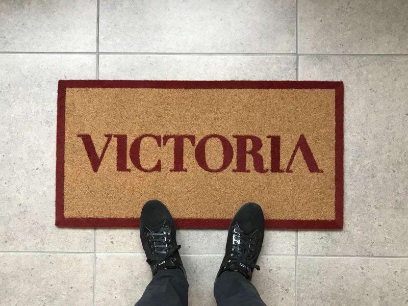 Zerbino intarsiato Zermat, tappeti personalizzati