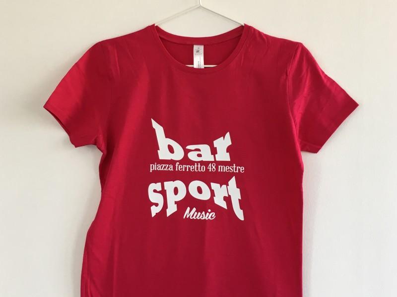 T-Shirt, Maglietta Colorata personalizzata Bar Mestre