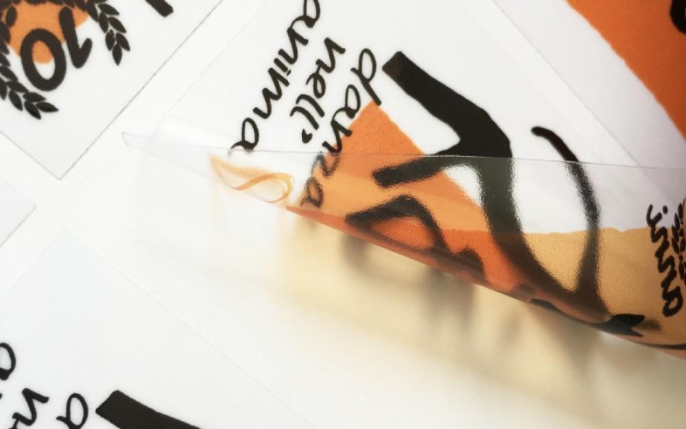 Stampa Etichette Adesive Trasparenti  a Venezia, Mestre e Marghera