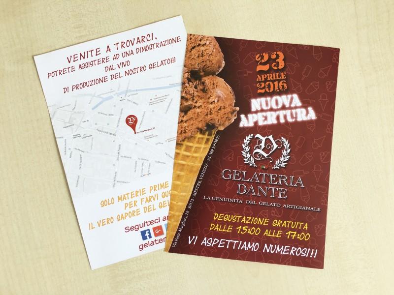 Stampa Volantini, Flyer personalizzati per G.D.