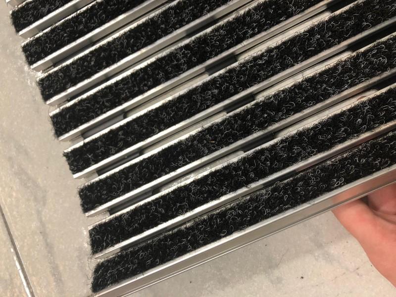 Tappeto tecnico in alluminio