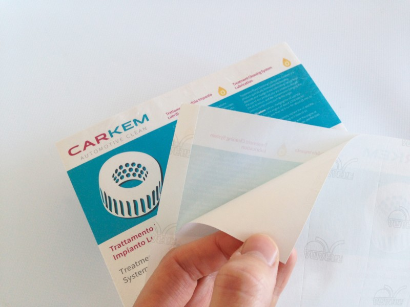 Stampa su Carta Adesiva