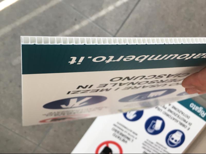 Stampa cartelli segnaletici Polionda Venezia Pannelli