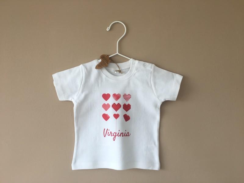 Maglietta bambino personalizzata, T-Shirt bianca per bambini e Bimbi