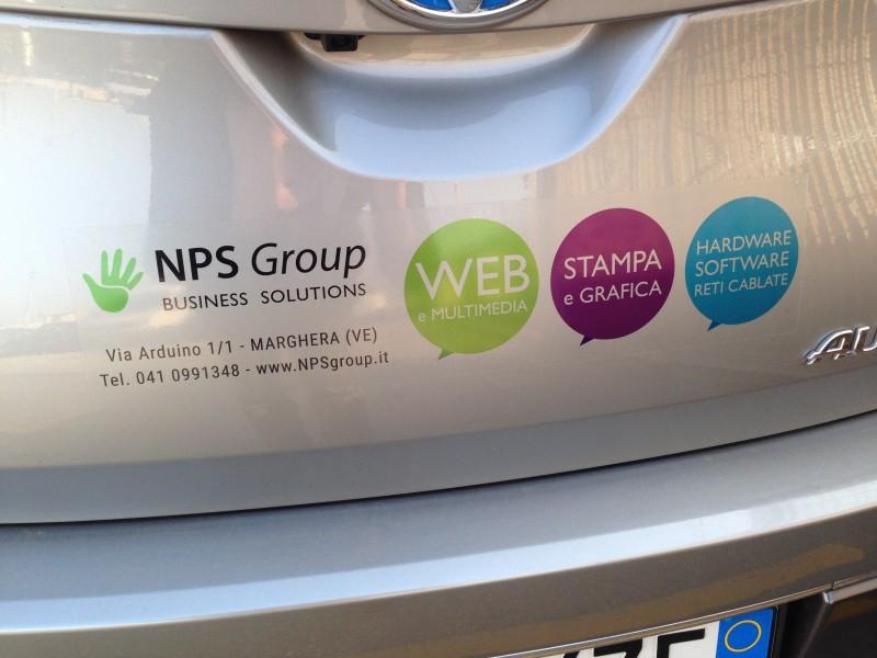 Stampa Adesivo trasparente per auto, PVC