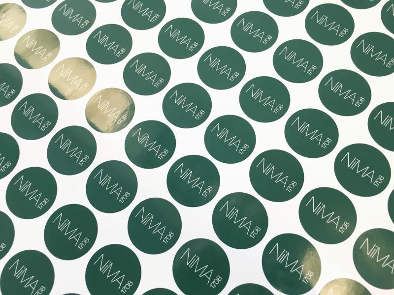 Stampa etichette adesive Tonde Venezia Mestre