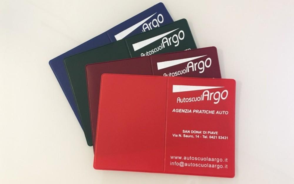 Porta Documenti, Porta Patente e Porta Carte di Credito personalizzate con logo aziendale