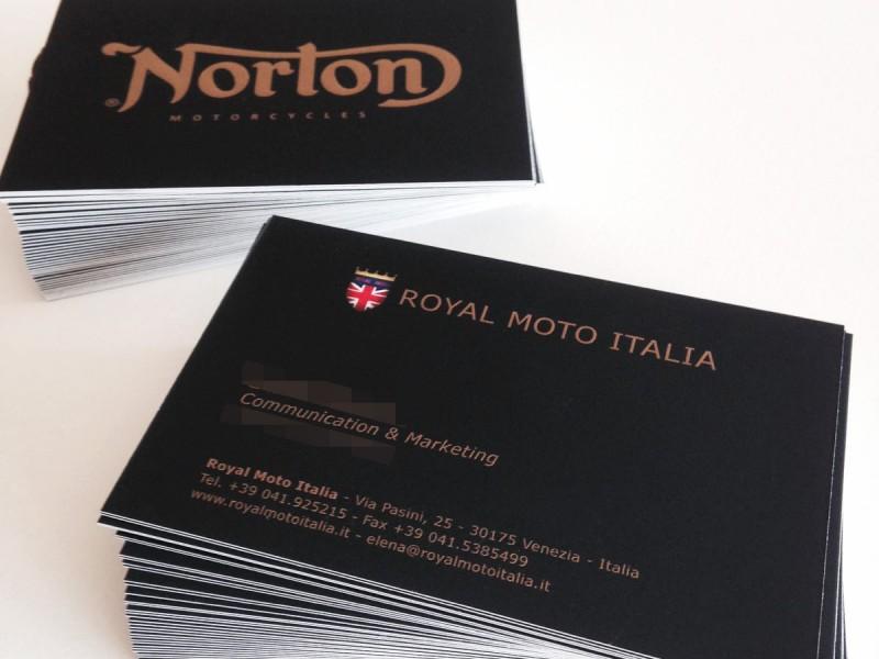 Stampa biglietto da visita Venezia Norton