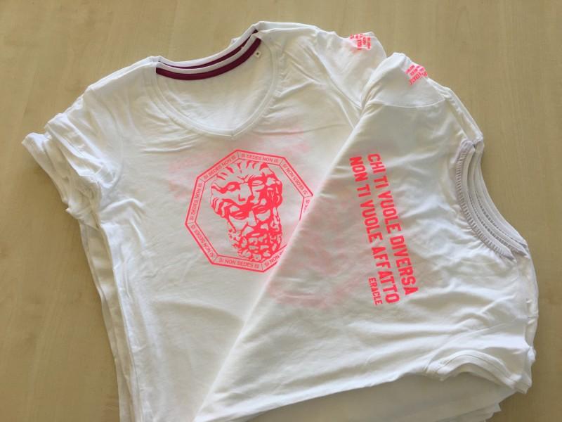 T-Shirt Personalizzata con stampa in serigrafia
