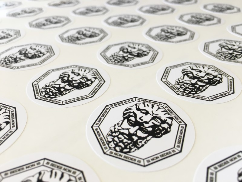 Etichette Adesive formato circolare tondo
