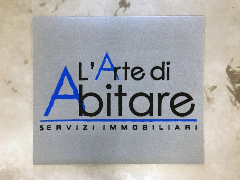 Tappeto Intarsiato con logo aziendale