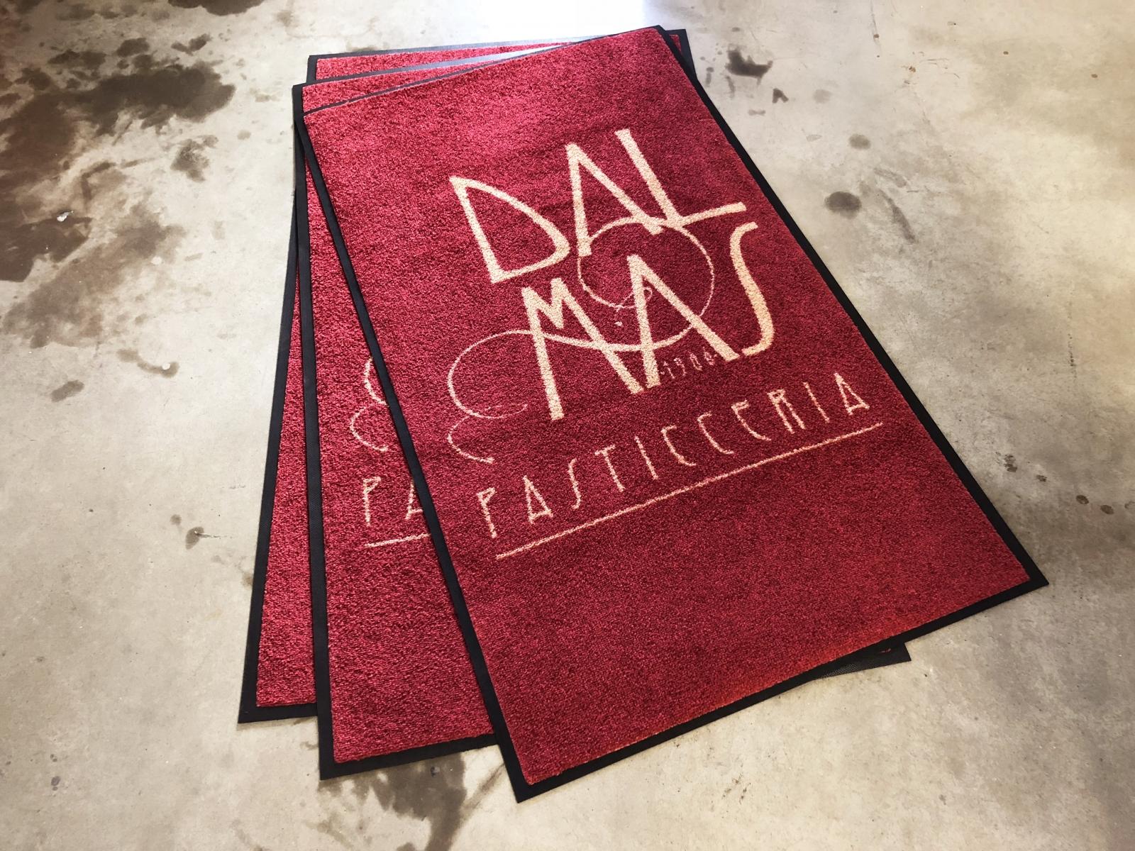 Asciugapassi stampato Venezia, tappeto stampato personalizzato