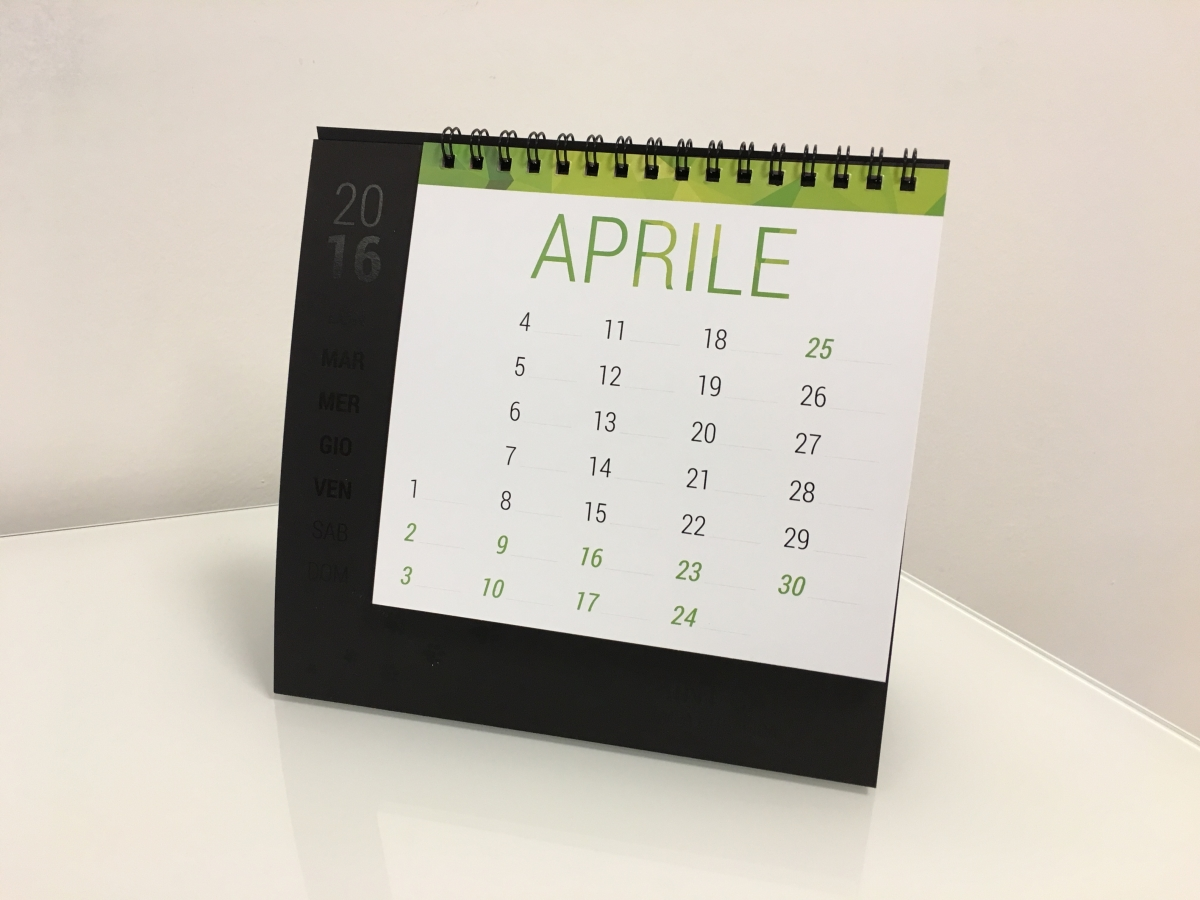 Calendario personalizzato da tavolo Print Cat