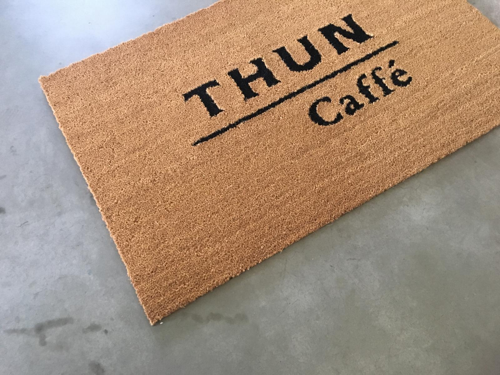 Tappeto personalizzato cocco naturale Venezia Thun