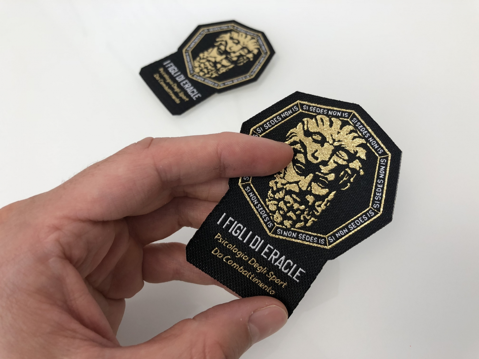Patch ricamate Venezia personalizzate per FDE - Realizzazione toppe Venezia