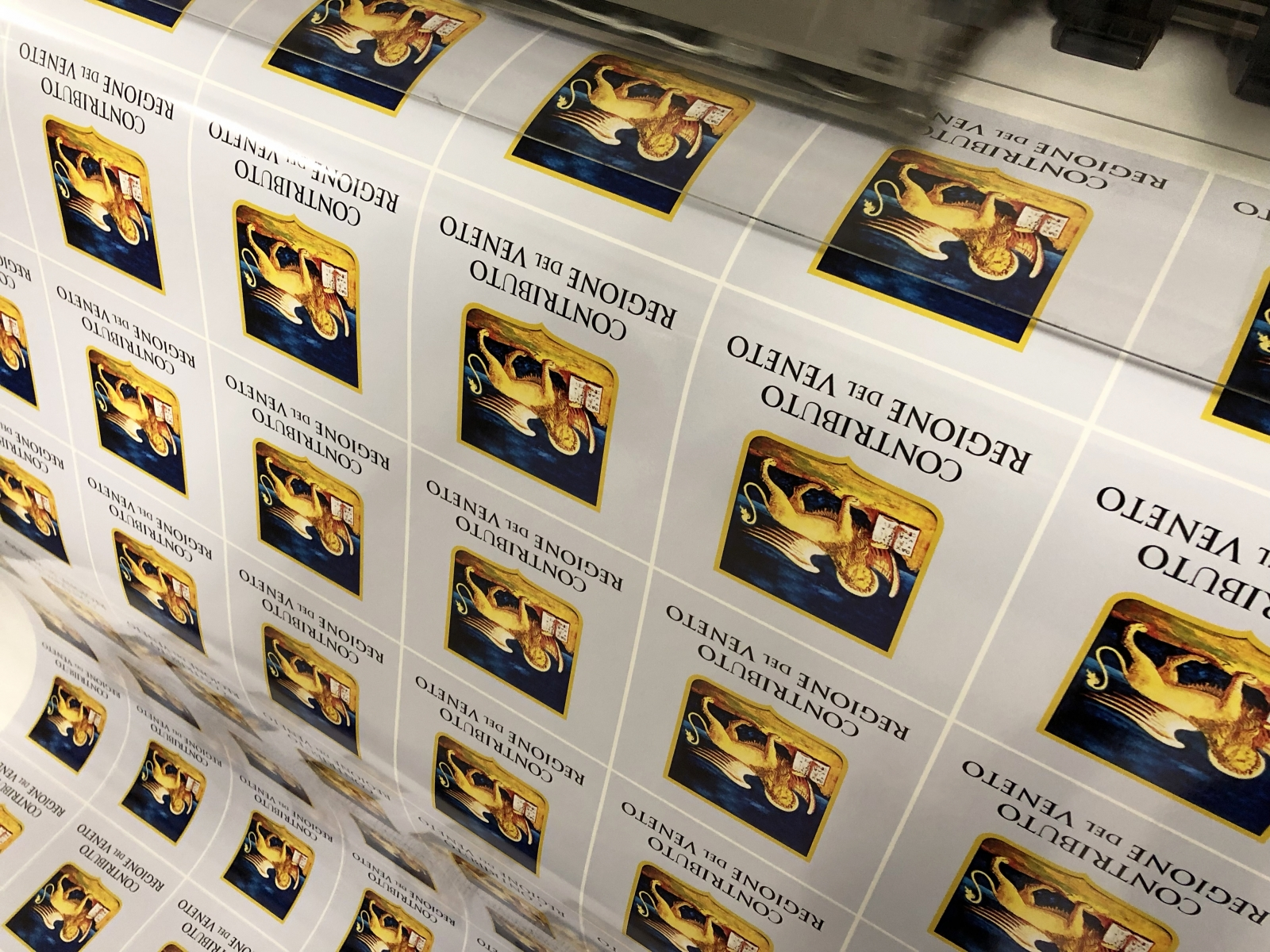 Stampa etichette adesive Venezia