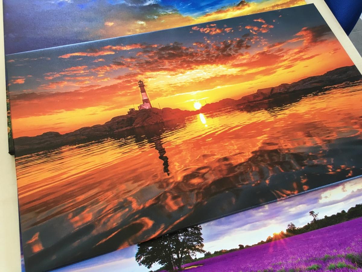 Quadro su  tela canvas a colori, tela pittorica