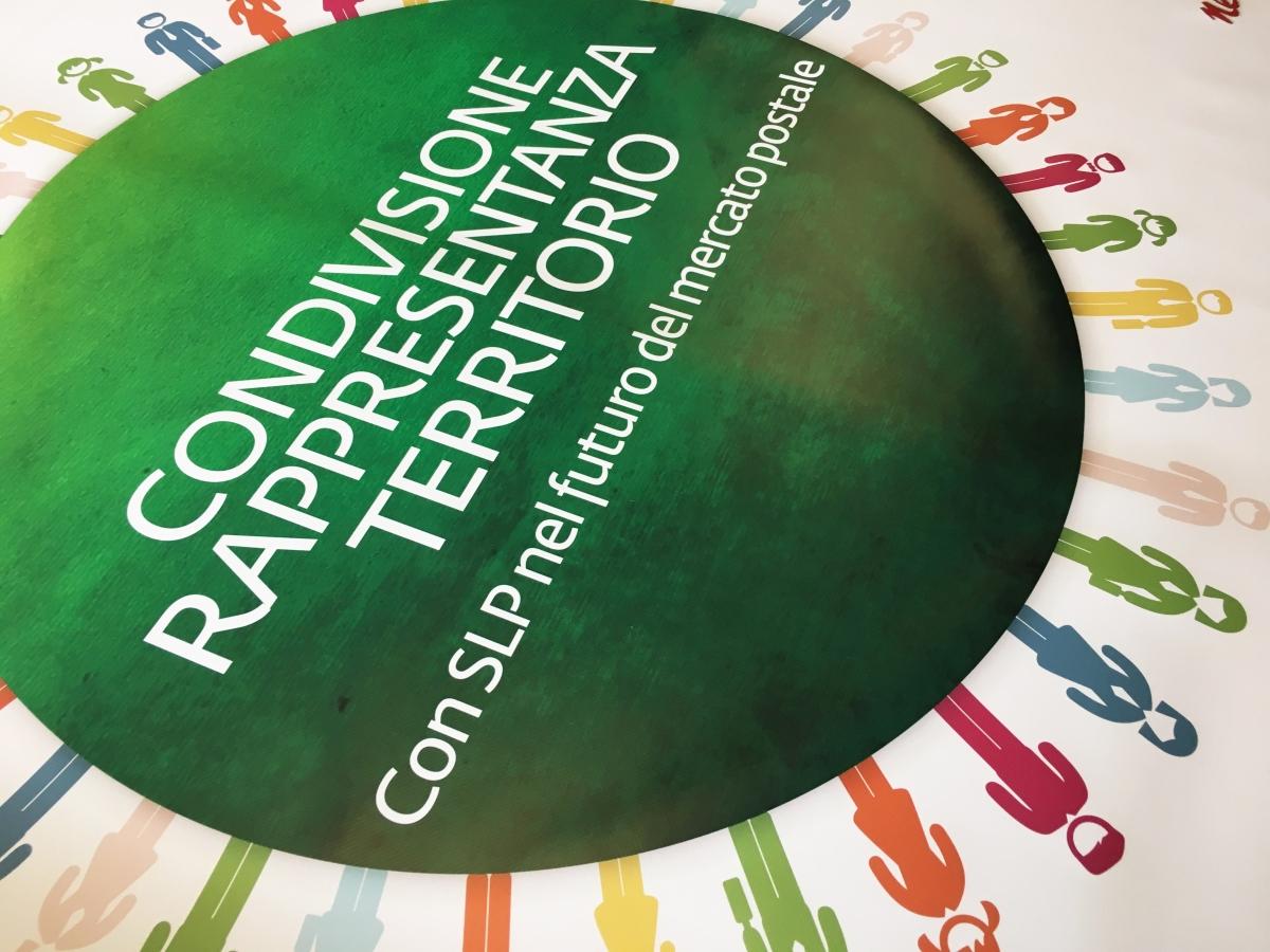 Stampa banner Venezia, striscione  banner a colori CISL Veneto