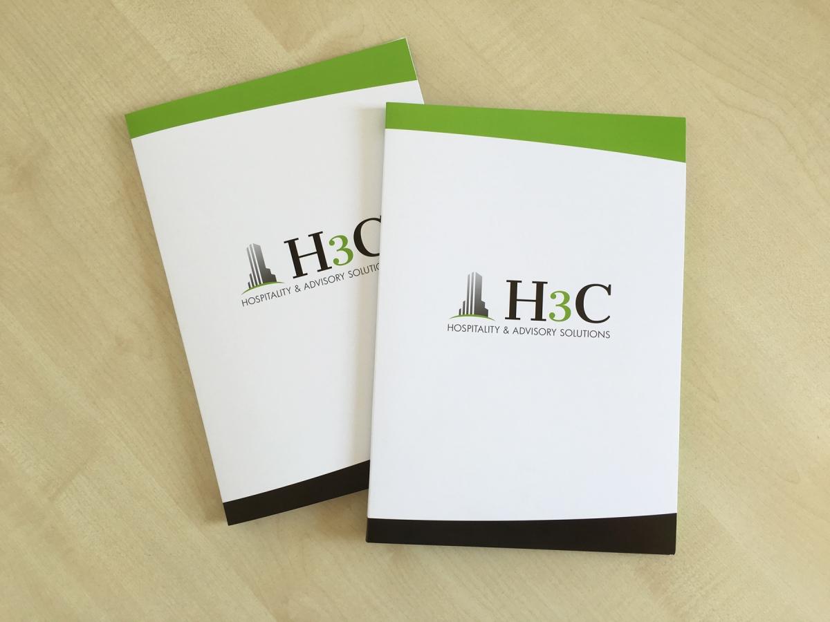 Stampa di cartelline personalizzate H3C Mestre Ve