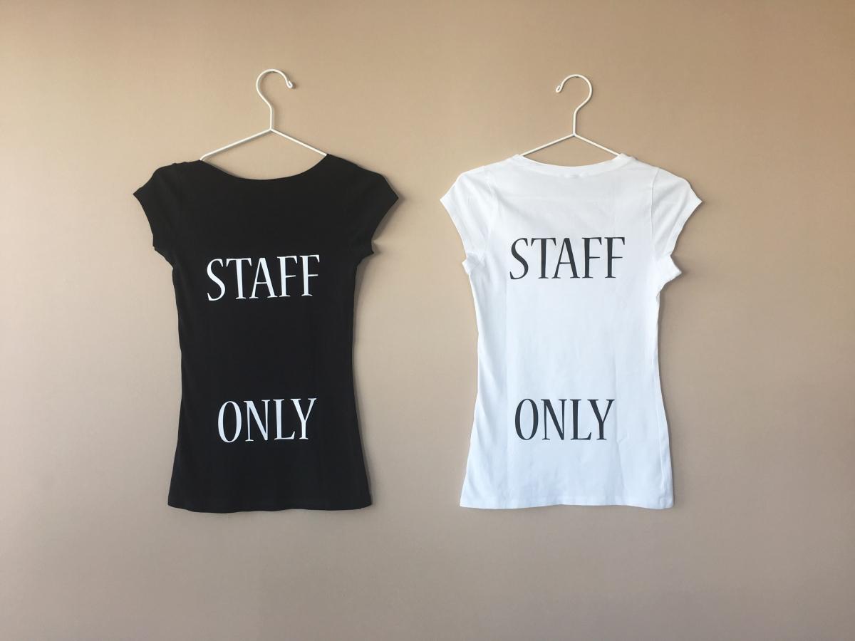 Stampa T-Shirt Venezia bianco e nero, magliette da donna