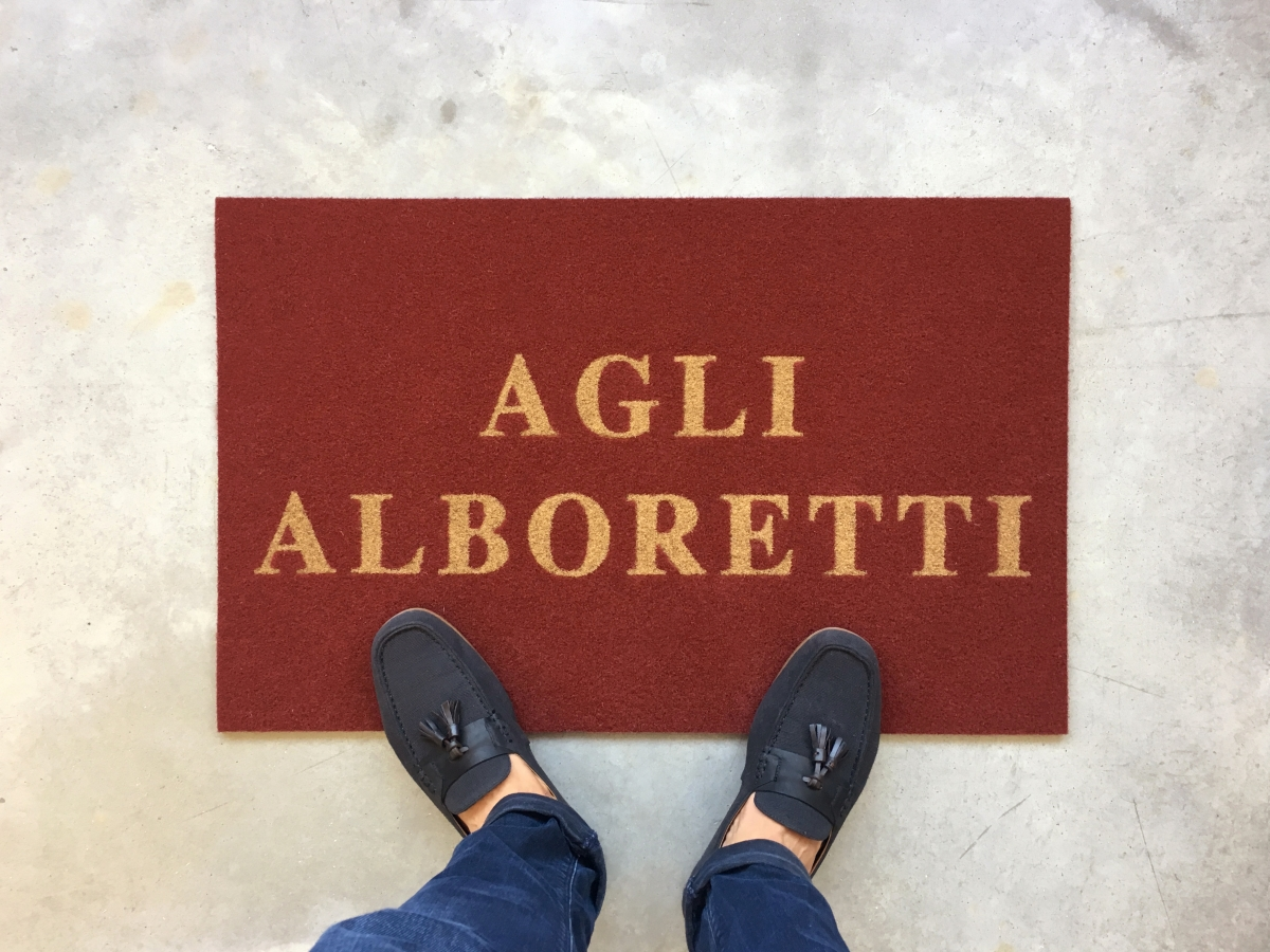 Tappeti personalizzato per Hotel Venezia