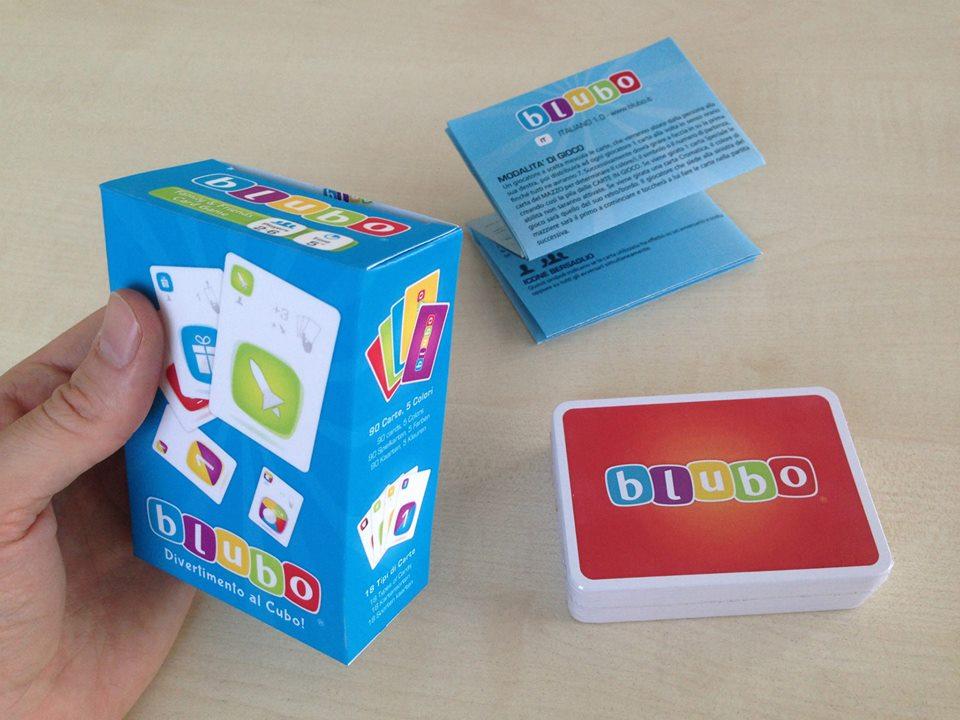 Stampa confezione packaging personalizzato Carte da gioco Blubo