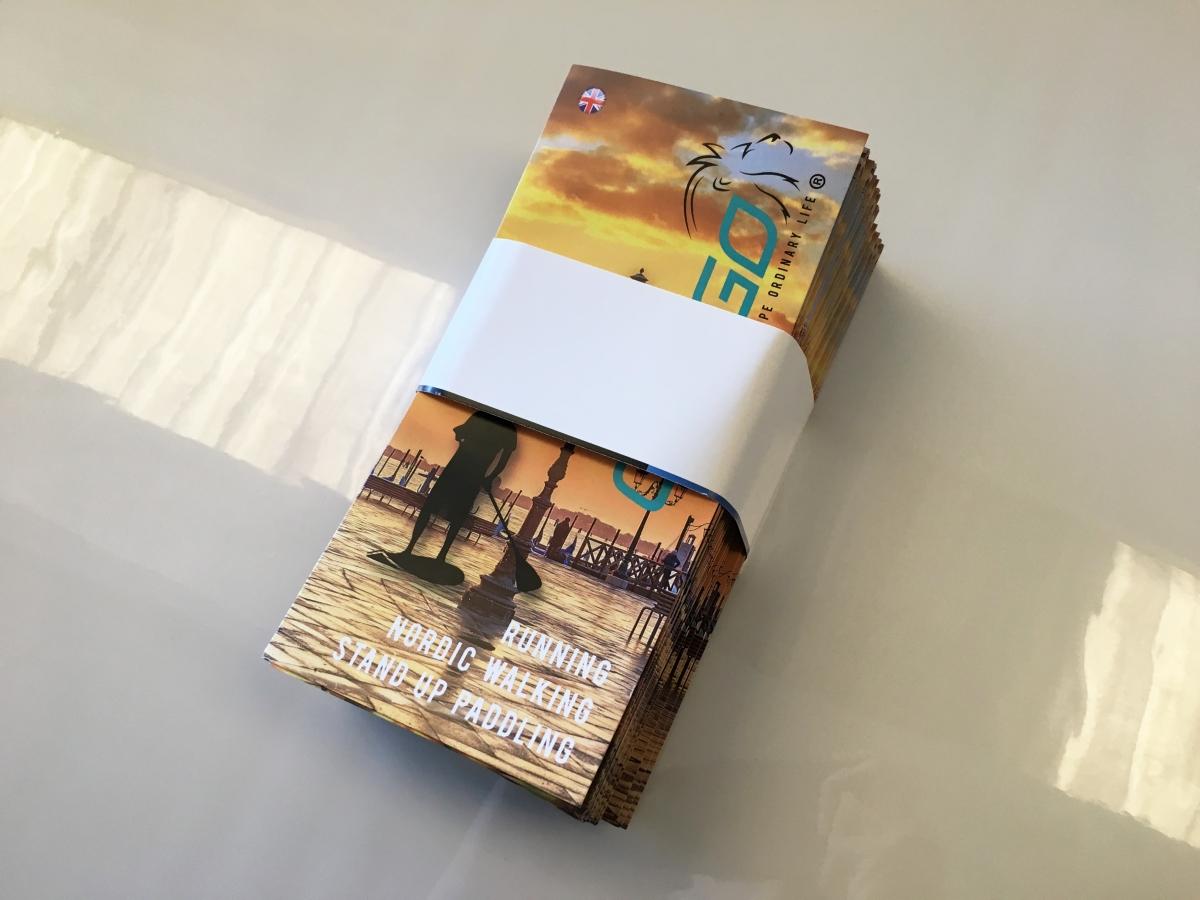 Stampa pieghevole 3 Ante formato A4 Venezia