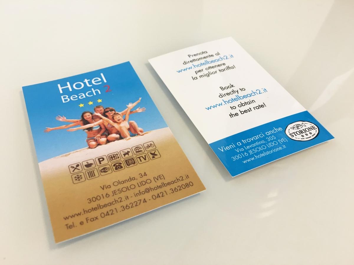 Stampa bigliettini da visita plastificati HB2