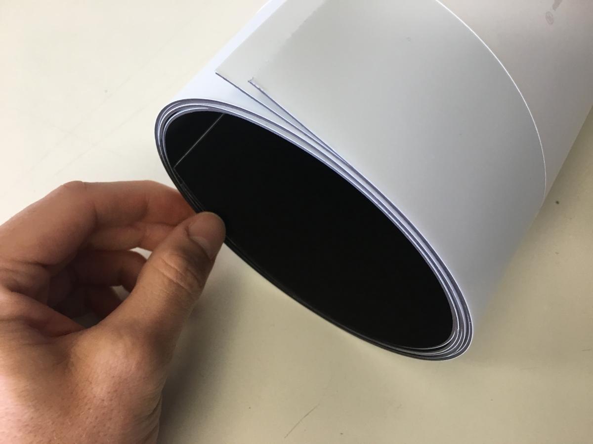 Fasce calamitate per vetture, stampa fasce magnetiche