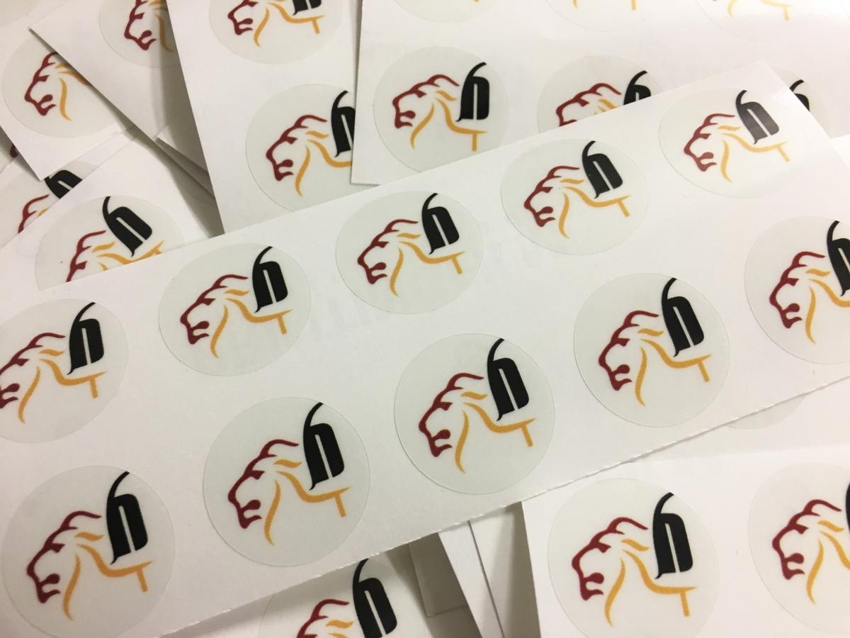 Stampa adesivi trasparenti Venezia, etichette e Sticker