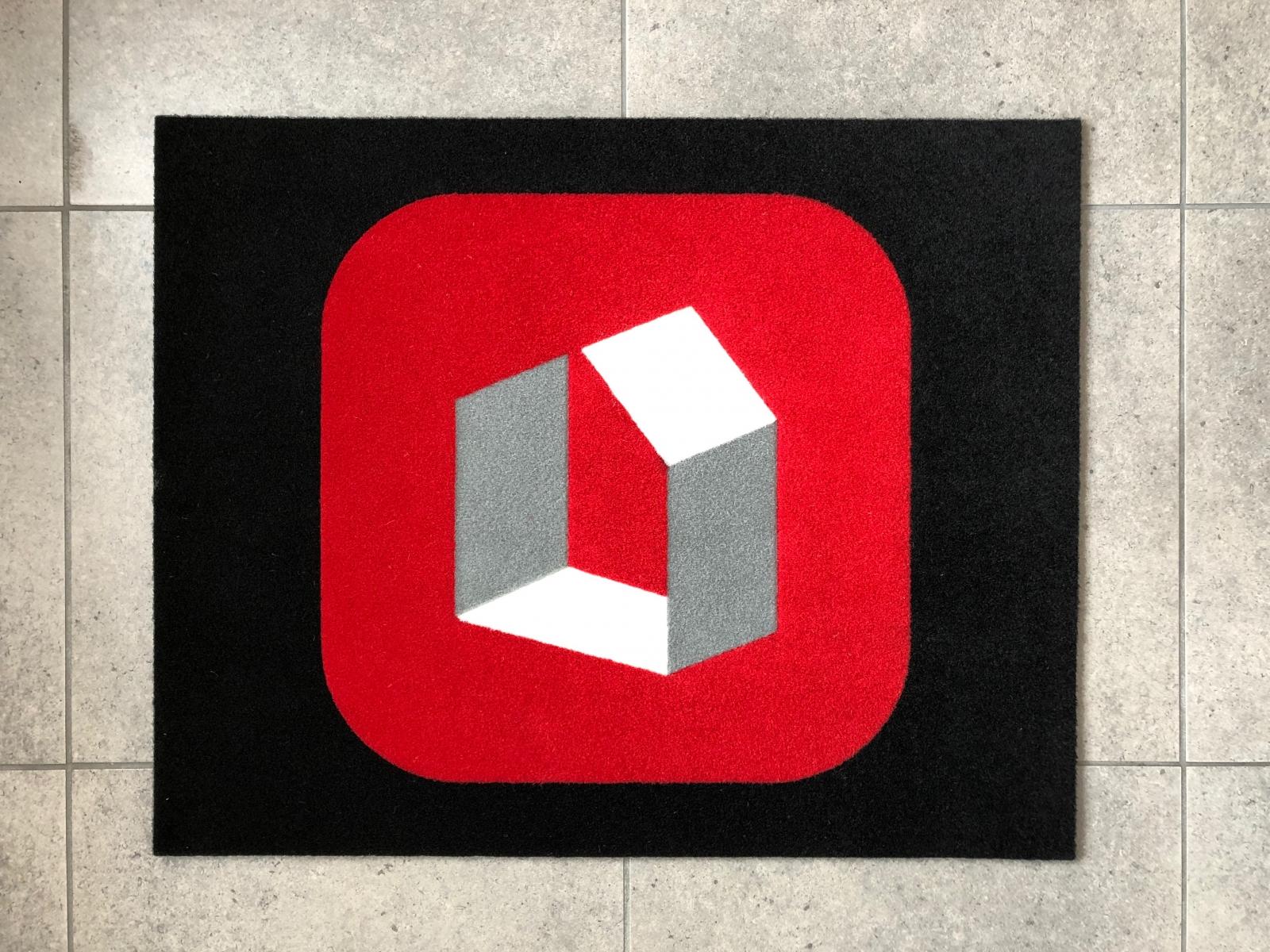 Zerbini personalizzati Treviso, tappeti con logo aziendale